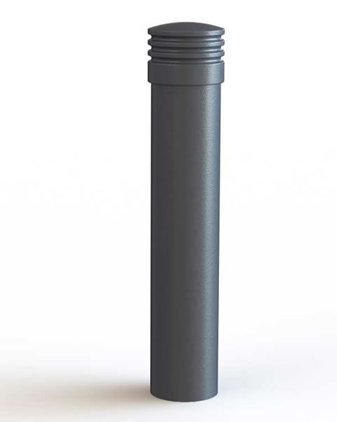 Aegean Pipe Bollard with cast cap
