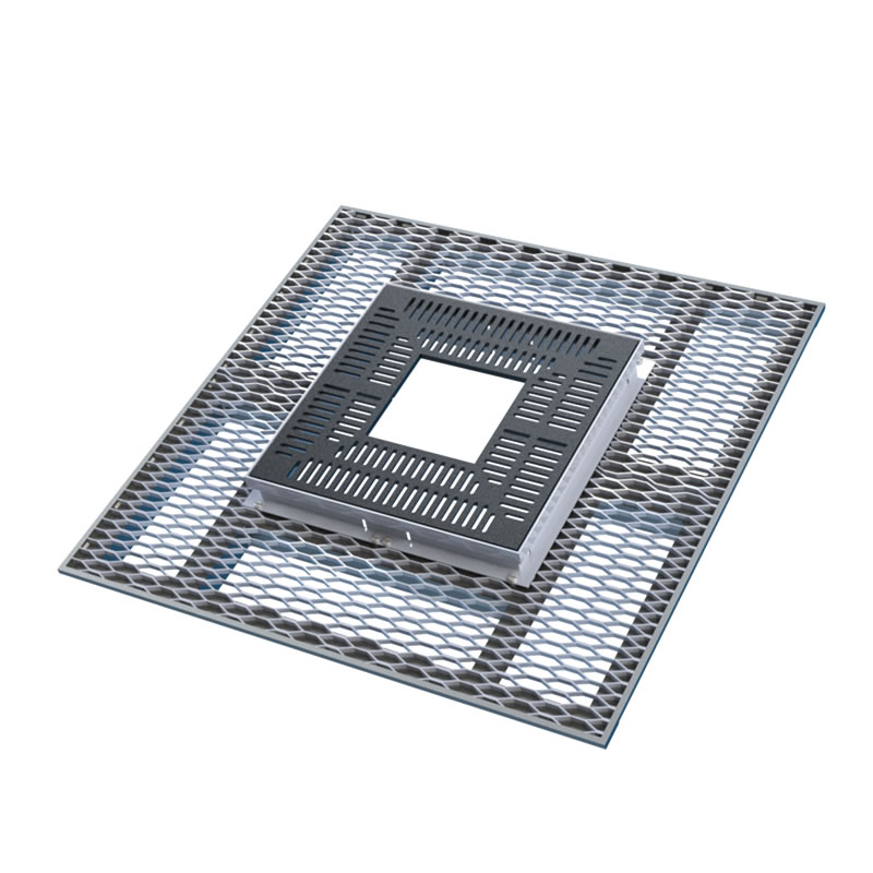 Paver-Grate® with ADA grate